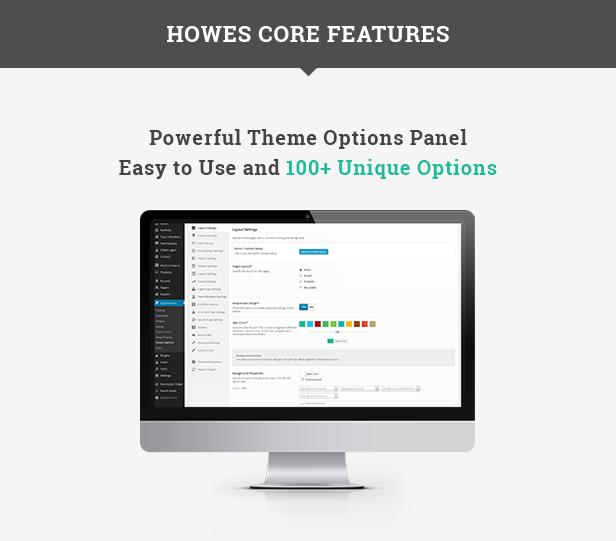 Howes WordPress Theme