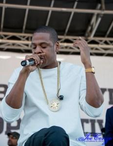 Jay-Z at the Brooklyn Hip Hop Festival, 2014