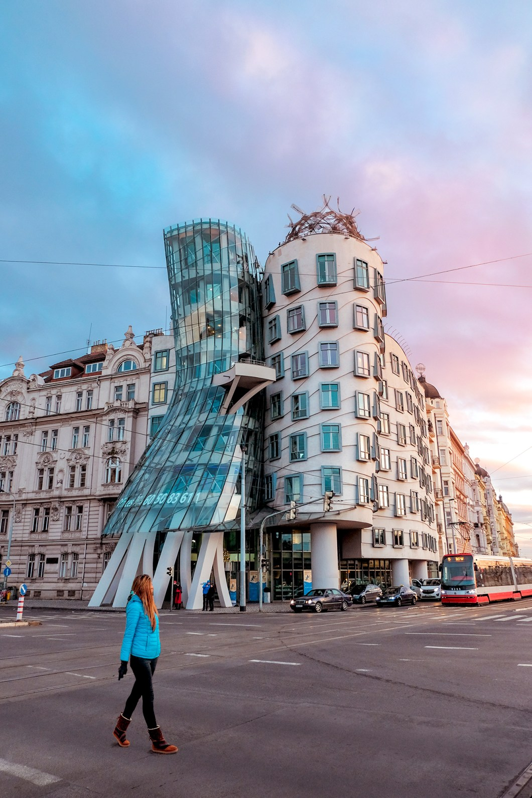 Dancing House in Prague Czech Republic