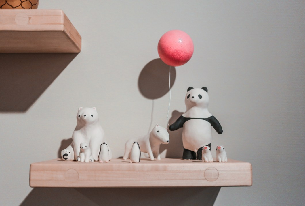 Cute animal figurines Helsinki
