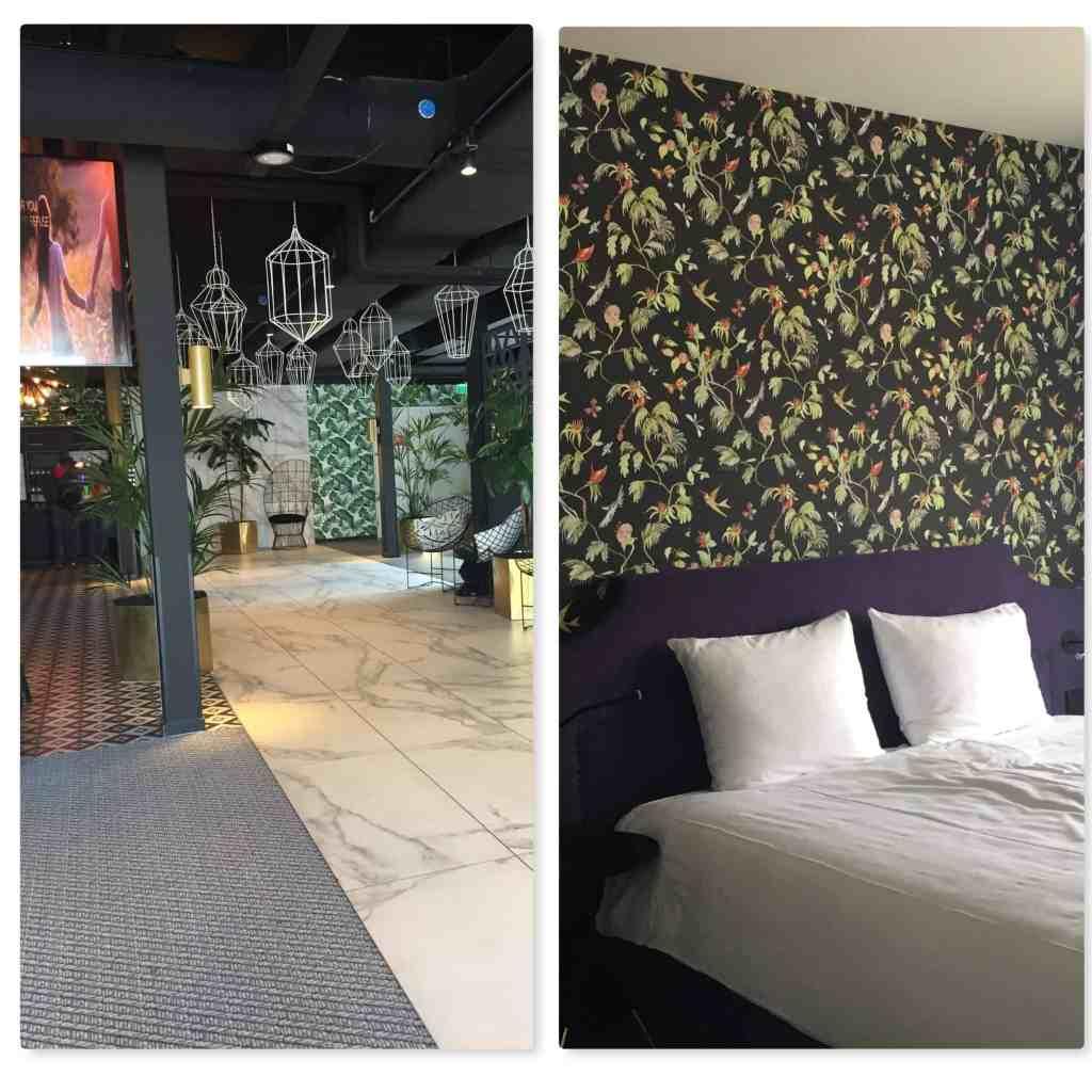 Amsterdam Tulip Inn lobby and bedroom