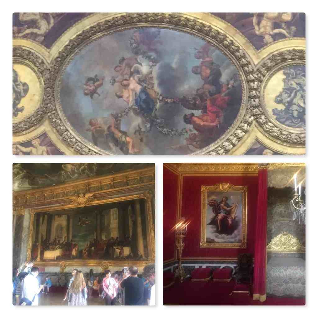 Versailles rooms paintings and ceiling