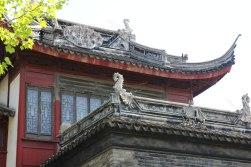 Detale architektoniczne na murach miejskich