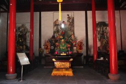Główny bożek w taoistycznej Świątyni Dajingguandi