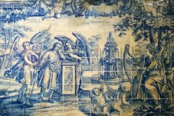 Malowane kafelki w Igreja do Outeiro da Glória
