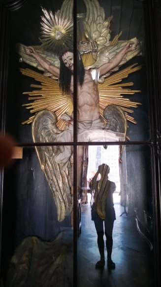 Typowe brazylijskie przedstawienie Jezusa