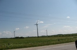 Industrial Wind Turbines in Shelburne, Ontario