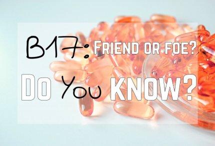 B17: Friend or Foe? Do you Know?