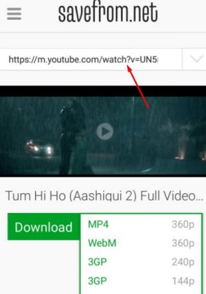 savefrom youtube download