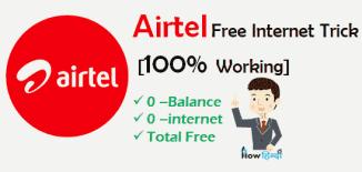 Airtel Free Internet Tricks in Hindi [100% Working] 2017