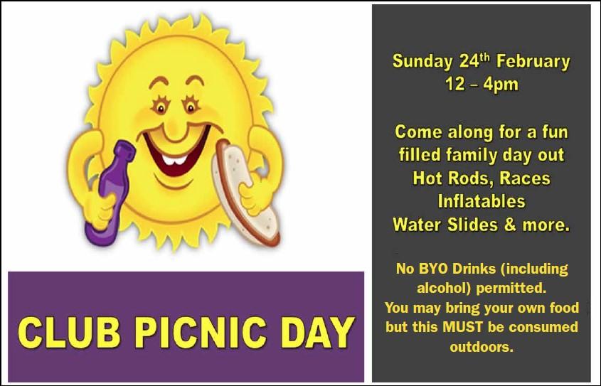 club picnic day
