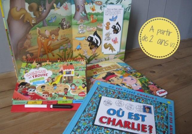 Avis livres cherche et trouve pour quel age idée cadeau