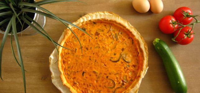 recette tarte aux légumes à faire avec ses enfants