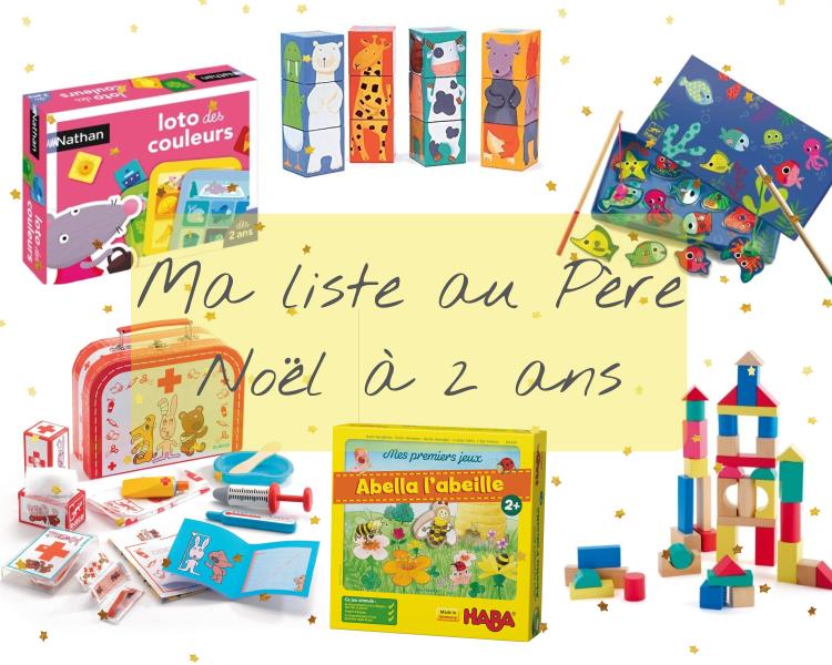 Ma liste de cadeaux … à 2 ans – How I Play with my mome