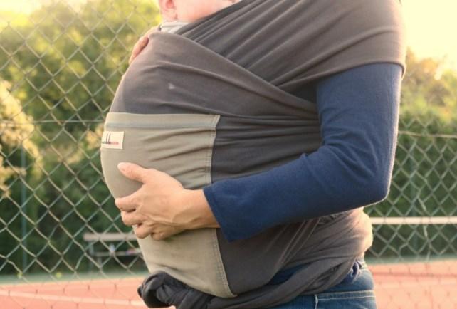 Porter bébé en écharpe avec écharpe JPMBB
