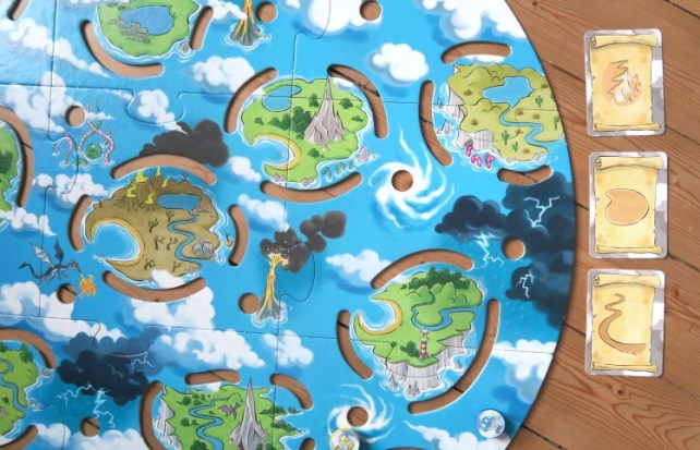 Autour des îles Haba trouver l'île au trésor