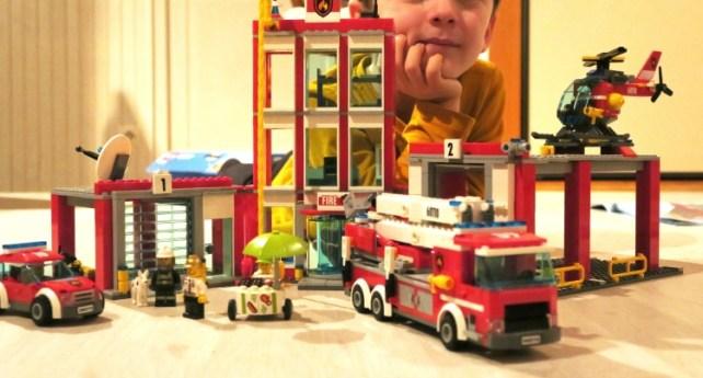 Lego caserne pompiers légo city montée avis