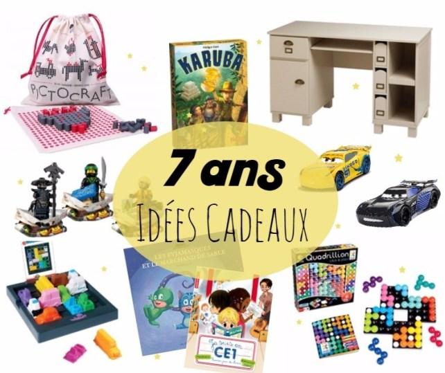 Liste idées cadeaux pour enfant 7 ans 8 ans