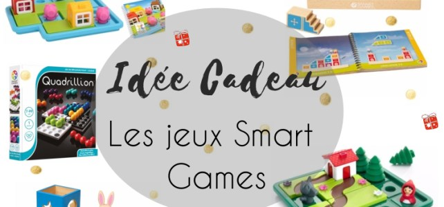 idée cadeau Noël 4 à 8 ans jeux smart games
