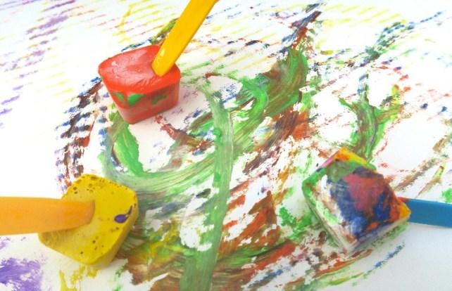 la peinture aux glaçons comment faire et quel intérêt avis psychomotricienne