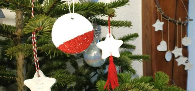 DIY nos jolies décorations de Noël en pâte autodurcissantes activité manuelle enfant