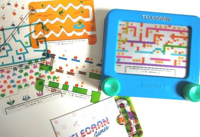 le nouveau télécran avec ses cartes de jeux comme jeux vidéos sans écran