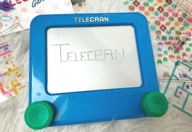 télécran games écrire des lettres