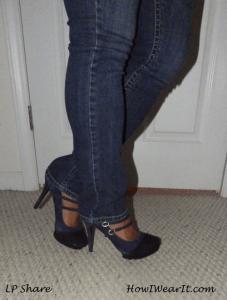 Heels & jeans