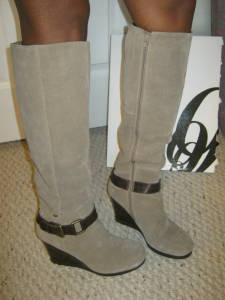 Bandolino Suede Boots
