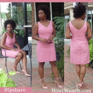 Ann Taylor Pink Dress How I Wear It