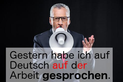 sprechen (to speak)