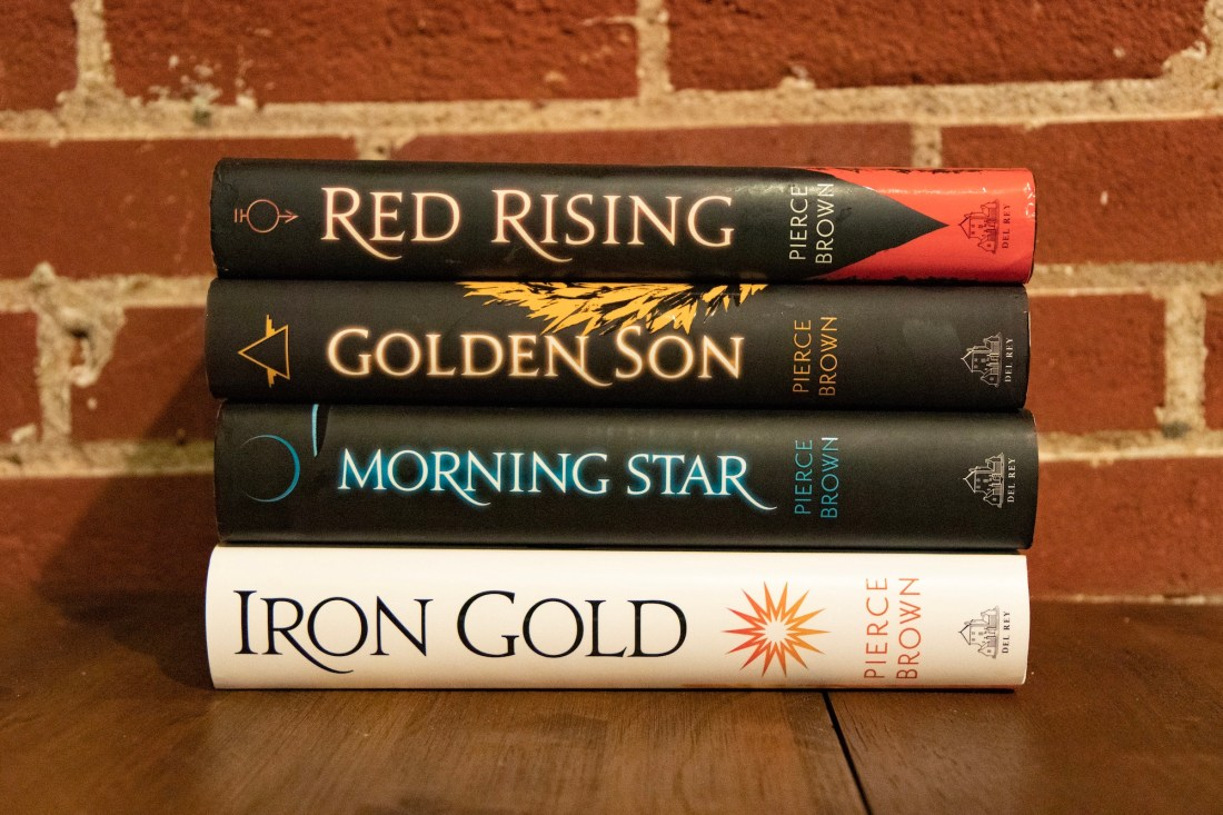Red Rising books