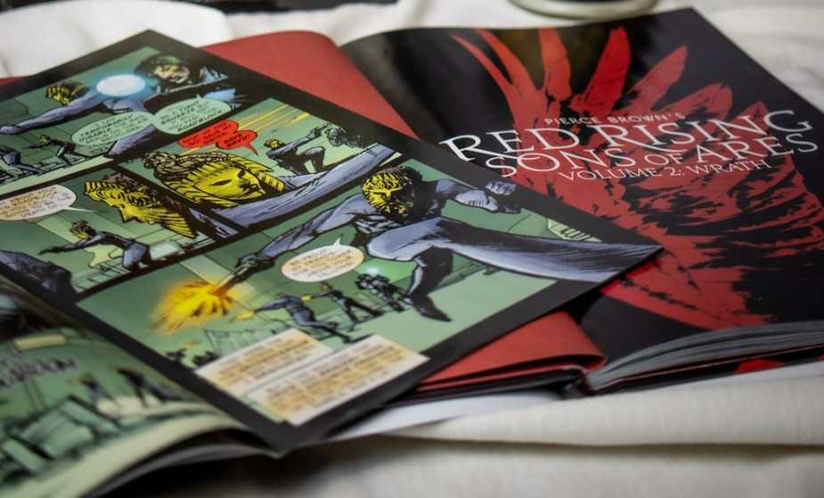 Red Rising: Sons of Ares comic and graphic novel book