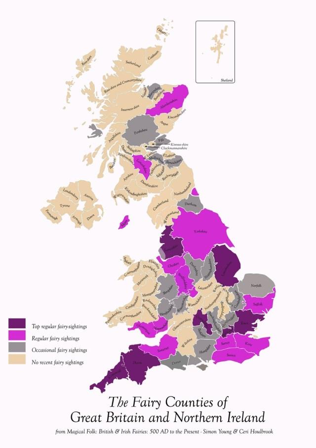 Fairy Sightings in Britain