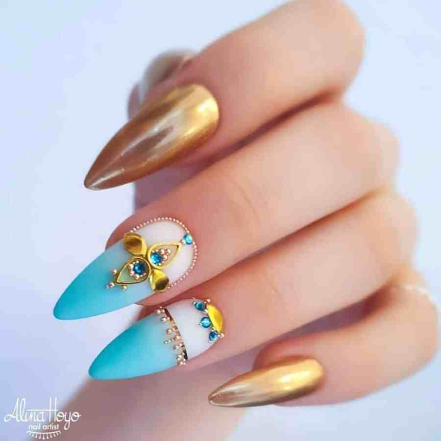 Stiletto Nails 09 - 20+ Amazing Stiletto Nails Ideas You Must To Try