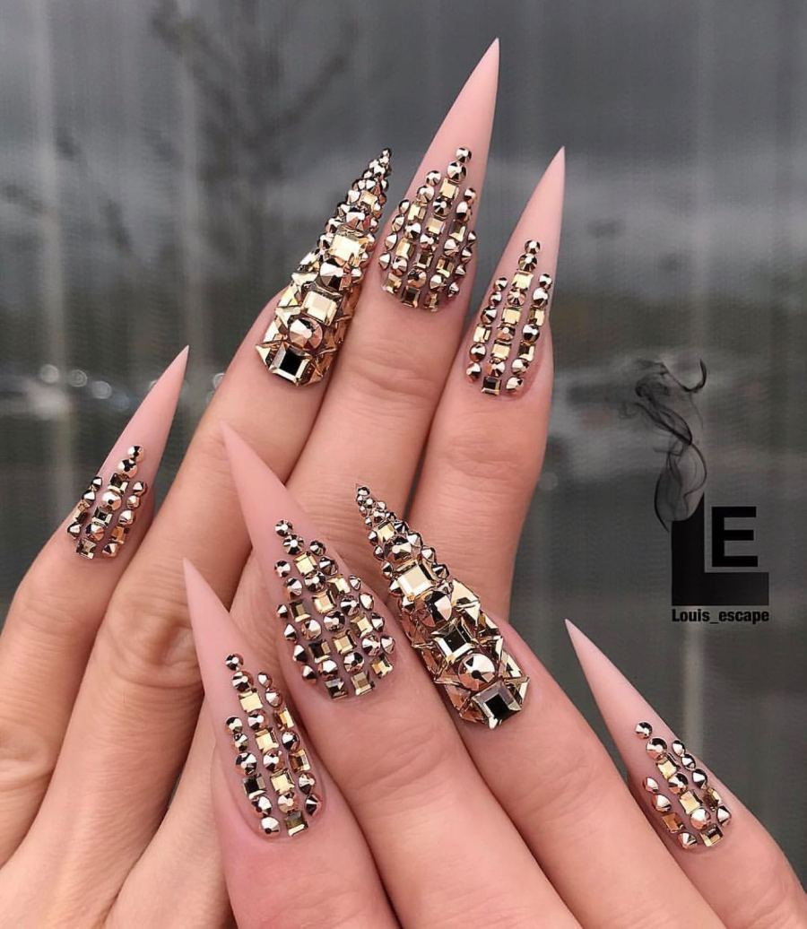 Stiletto Nails 15 - 20+ Amazing Stiletto Nails Ideas You Must To Try