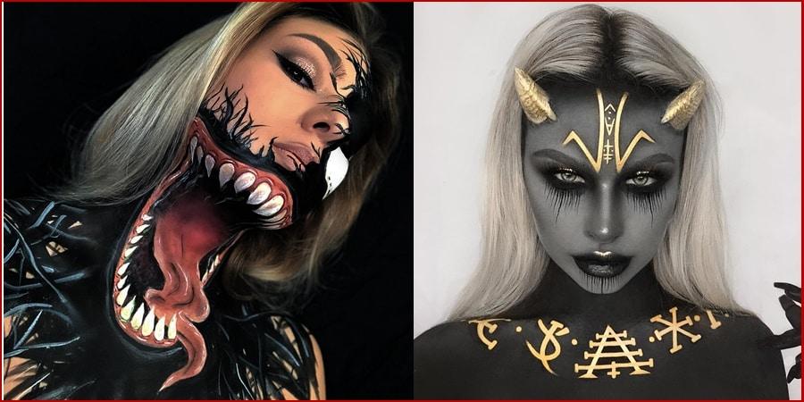 Unique Halloween Makeup Ideas - 60+ Unique Halloween Makeup Ideas For Women