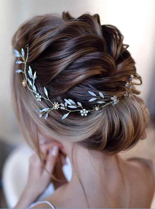 Updo Wedding Hairstyles 69 - 60+ Gorgeous Updo Wedding Hairstyles 2019