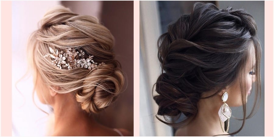 Updo Wedding Hairstyles - 60+ Gorgeous Updo Wedding Hairstyles 2019