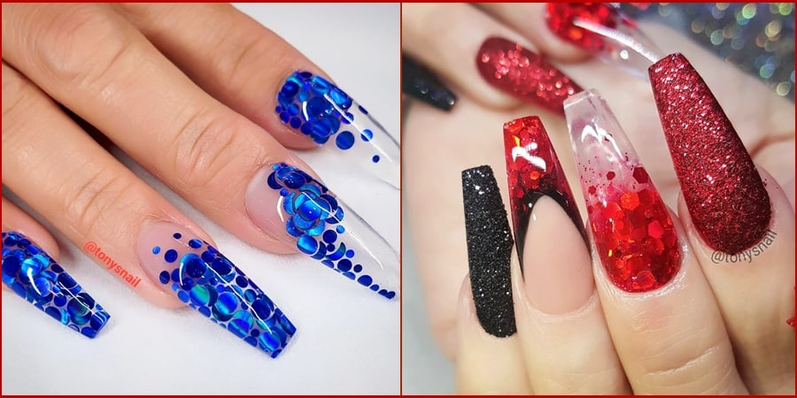 coffin nails design 090819 - 157 Classy Coffin Nails Design That You Should Try