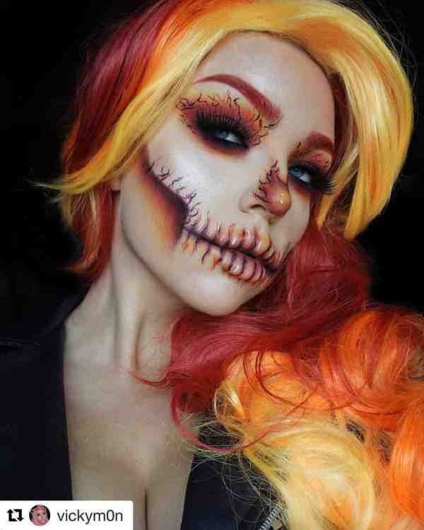 Halloween makeup looks 1018201914 - 90+ the Best Halloween Makeup Looks to Copy This Year