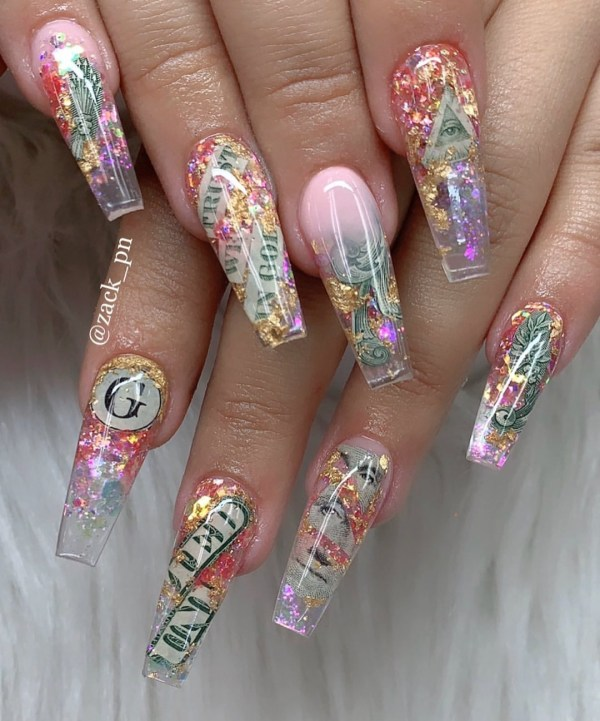 Coffin Nail 2019112702 - 50+ The Best Coffin Nail Designs