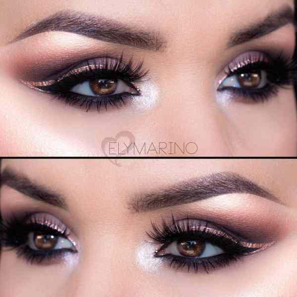 Eye and Lip Makeup 2019122601 - 40+ Beautiful Eye and Lip Makeup Ideas
