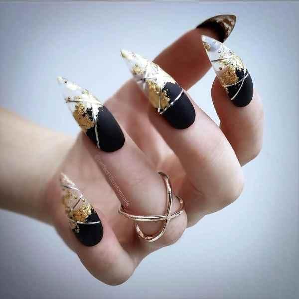 stiletto nails 2019121402 - 30+ Sharp Stiletto Nails Idea Very Cool