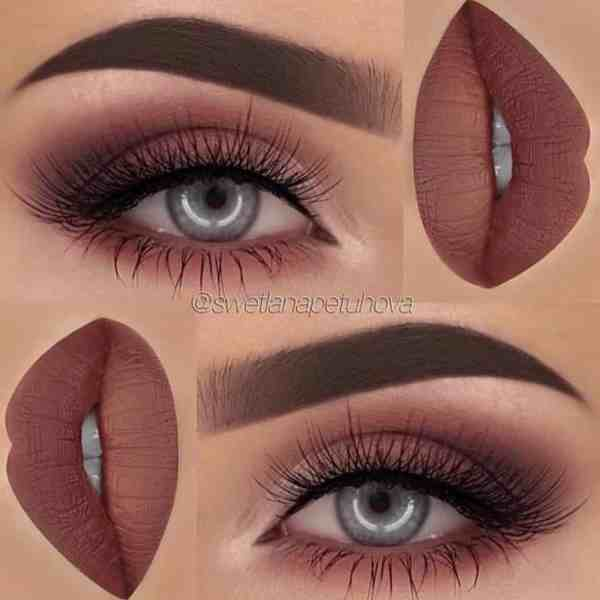 Eyes Makeup 2020013010 - 30+ Best Eyes Makeup and Lipstick Colors In Winter