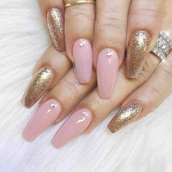 Winter Coffin Nail 2020011428 - 40+ Winter Coffin Nail Designs You Must Try