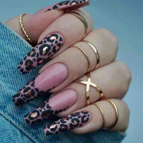 Winter Coffin Nail 2020011434 - 40+ Winter Coffin Nail Designs You Must Try