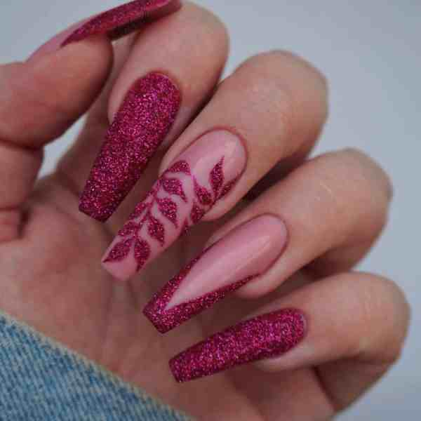 Winter Coffin Nail 2020011439 - 40+ Winter Coffin Nail Designs You Must Try