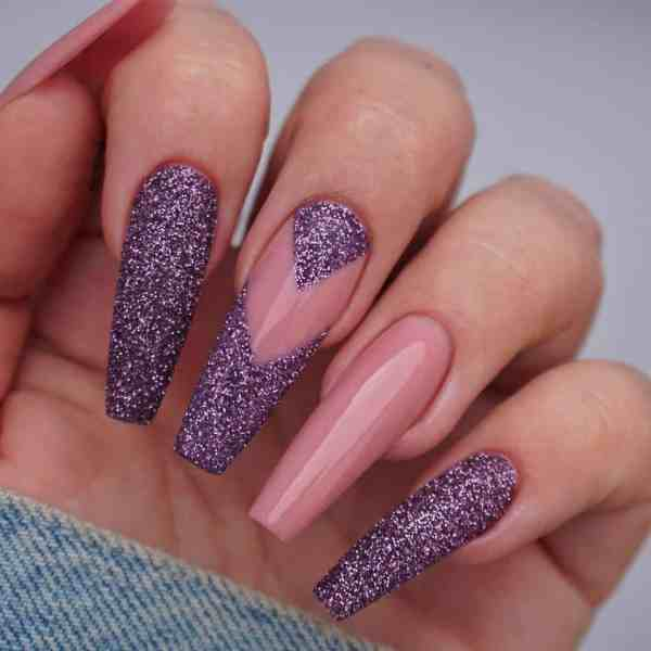 Winter Coffin Nail 2020011444 - 40+ Winter Coffin Nail Designs You Must Try