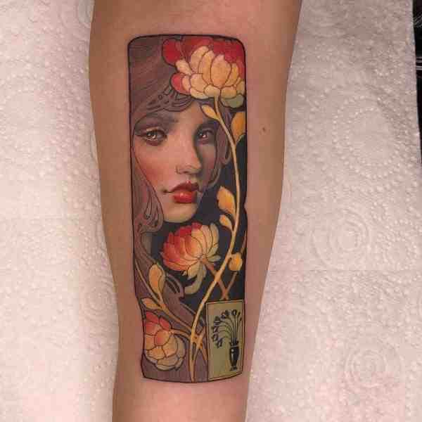 elegant tattoo 2020012622 - 60+ Elegant Tattoo Ideas Will Inspire Women